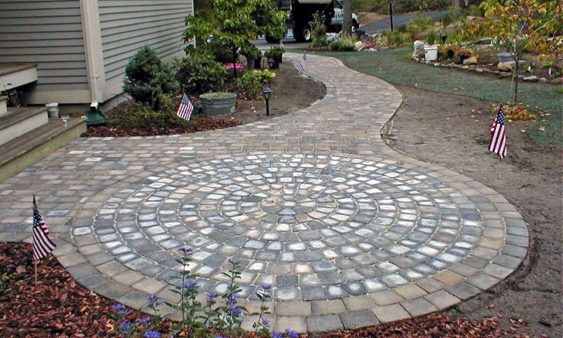 Stone patios power washing
