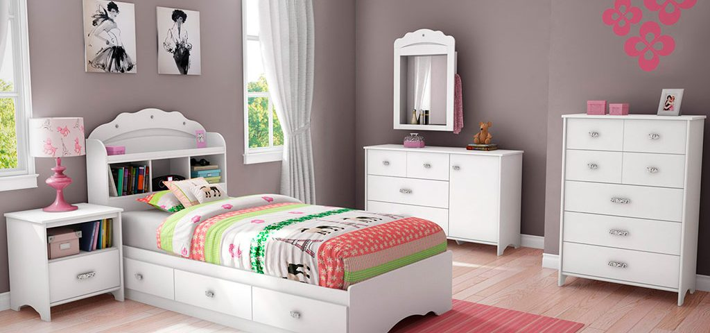 Kids bedroom interior painting