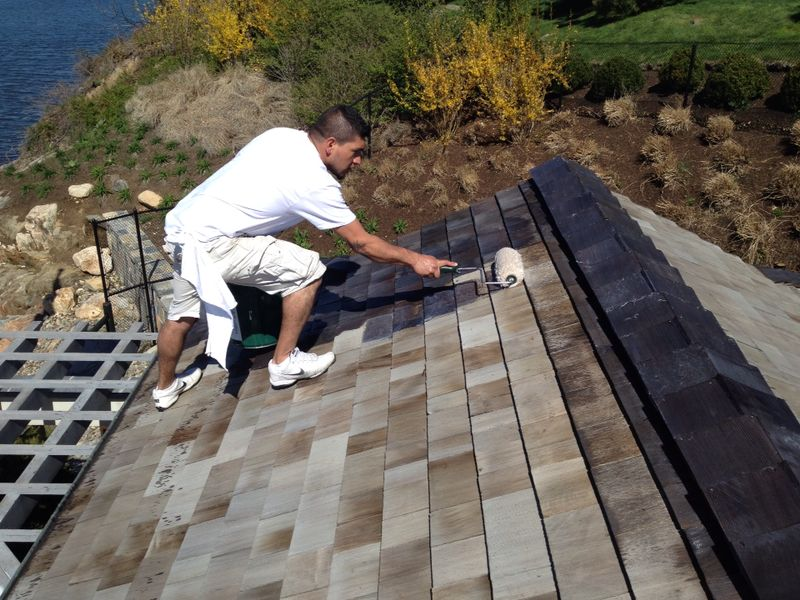 Cedar Roof Sealing